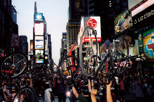 Bike Lift in Time's Square