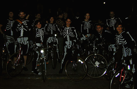 Halloween Critical Mass, 2004