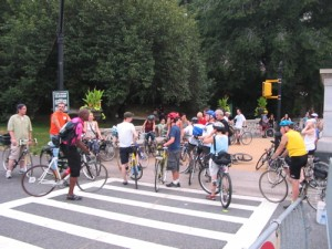 Brooklyn CM, August 2005, gathering at Prospect Park. Photo by Mac.