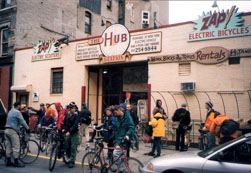 Hub Station when is was on 3rd Street in the East Village